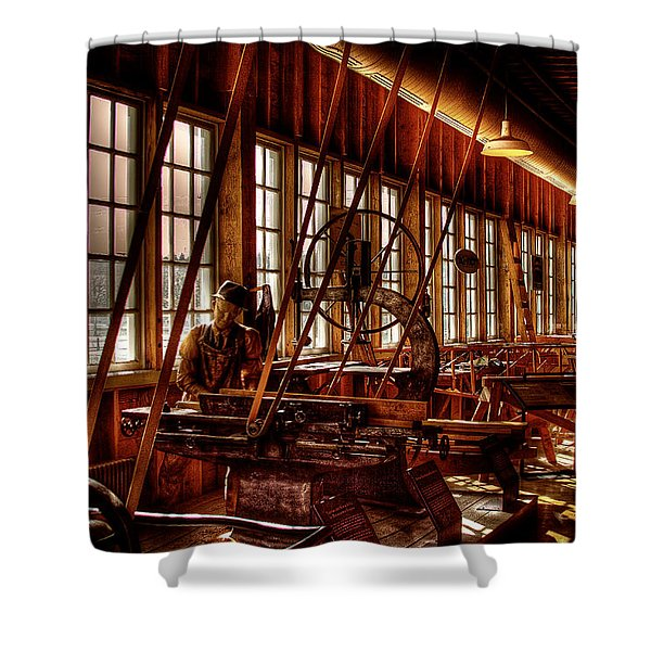 The Red Barn Of The Boeing Company Iv Shower Curtain