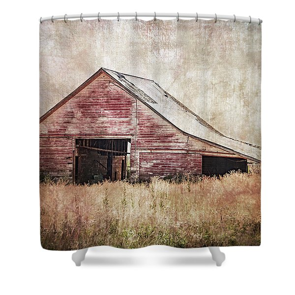 The Red Shed Shower Curtain