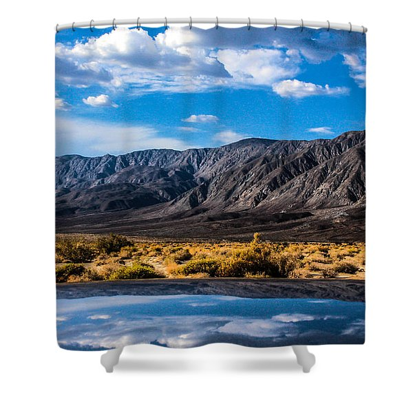 The Reflection On The Roof Shower Curtain