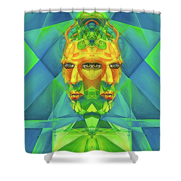 The Reinvention Reinvented 2 Shower Curtain