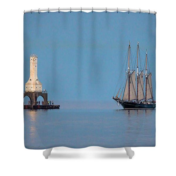 The Return Shower Curtain