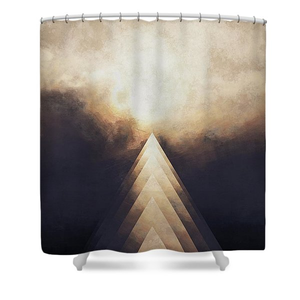 The Rise Shower Curtain