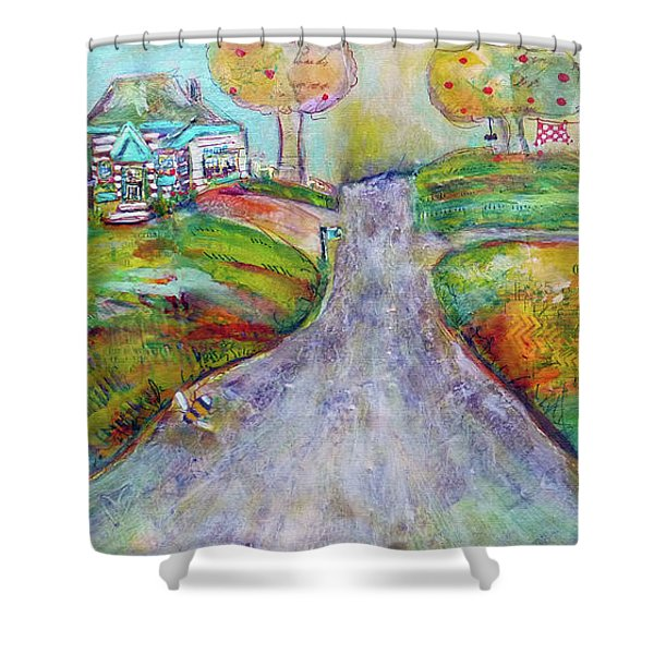 The Road Home Shower Curtain