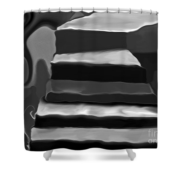 The Road To Despair Shower Curtain