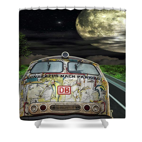 The Road Trip Shower Curtain