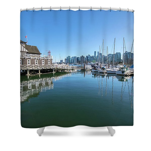 The Rowing Club Shower Curtain