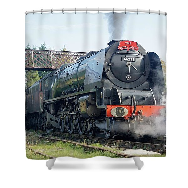 The Royal Scot At Butterley Shower Curtain