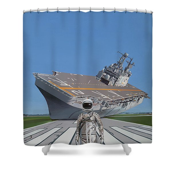 The Runway Shower Curtain