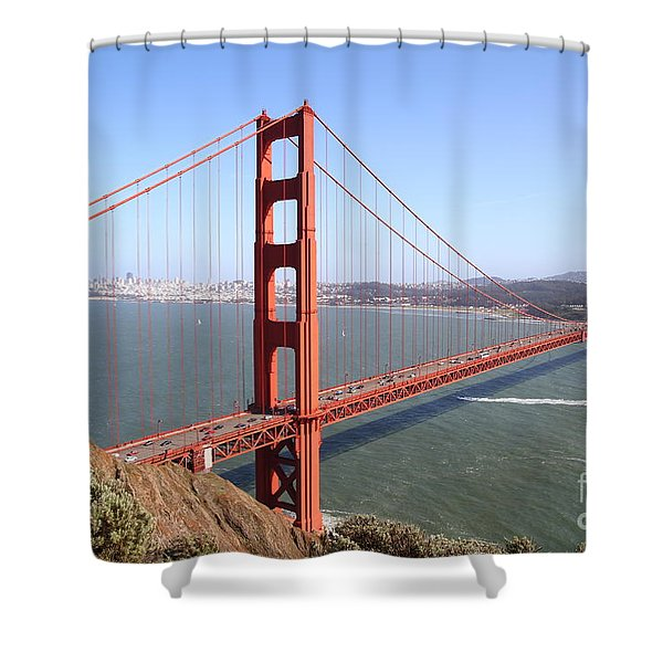 The San Francisco Golden Gate Bridge 7d14507 Shower Curtain
