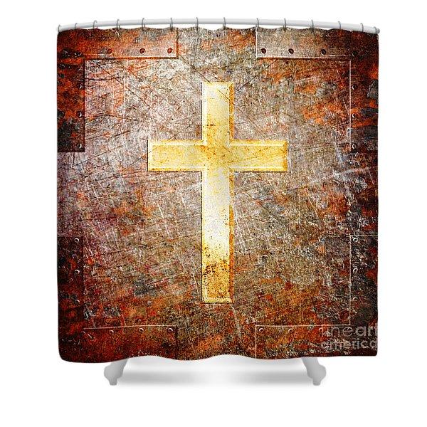 The Savior Shower Curtain