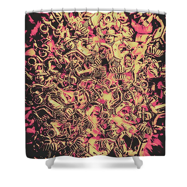 The Scare And The Crows Shower Curtain
