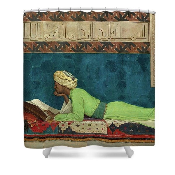 The Scholar Shower Curtain