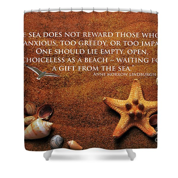 The Sea's Reward 2016 Shower Curtain