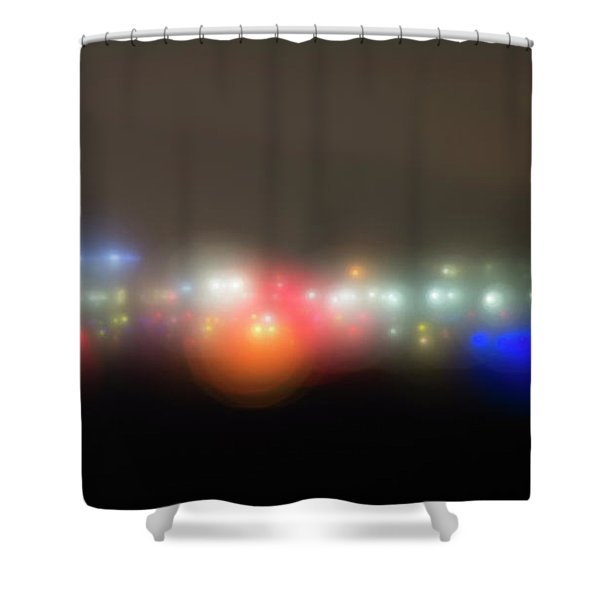 The Seeds Of Starbase 4 Shower Curtain