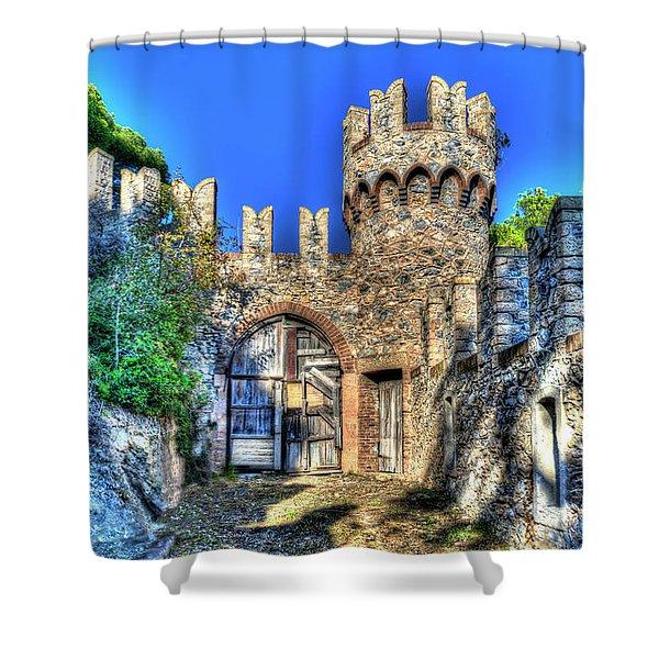 The Senator Castle - Il Castello Del Senatore Shower Curtain