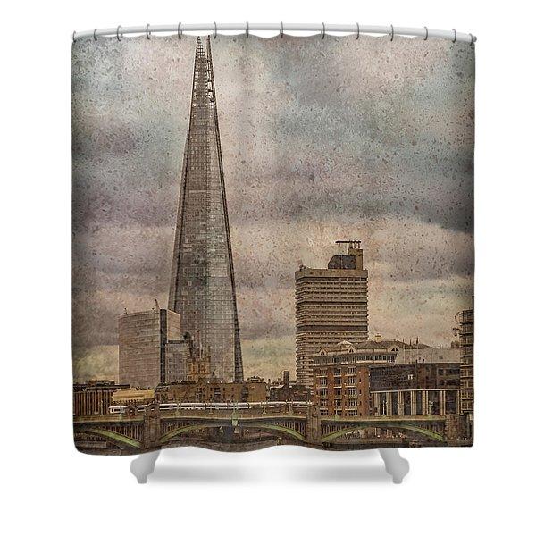 London, England - The Shard Shower Curtain