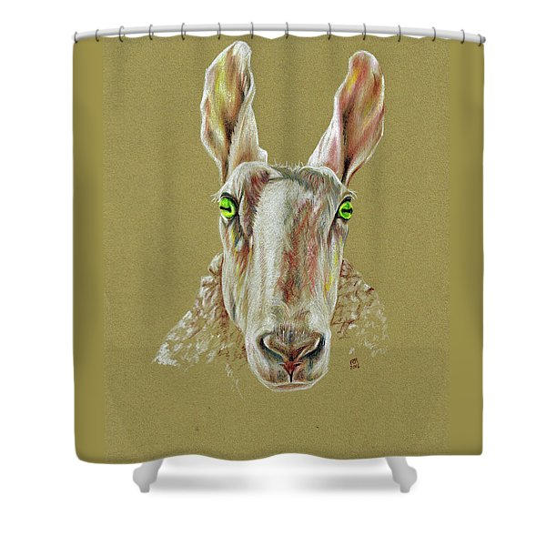 The Sheep Shower Curtain