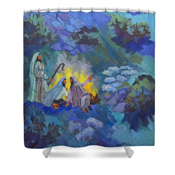 The Shepherds Shower Curtain