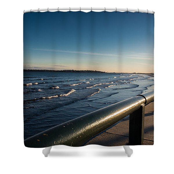 The Shore Line Shower Curtain