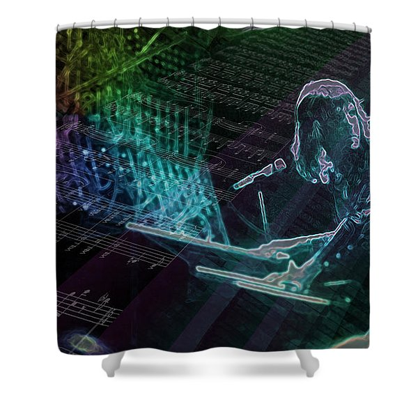 The Show That Never Ends... Shower Curtain