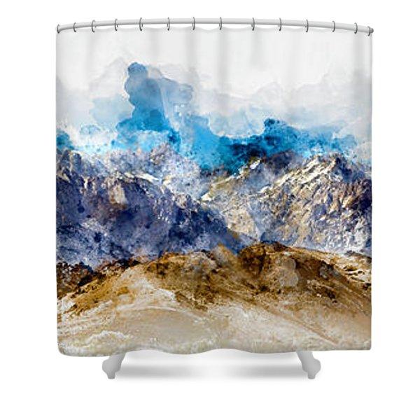 The Sierras Shower Curtain
