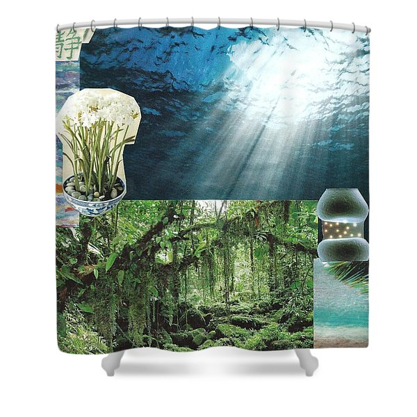 The Sight Of Inspiration Shower Curtain