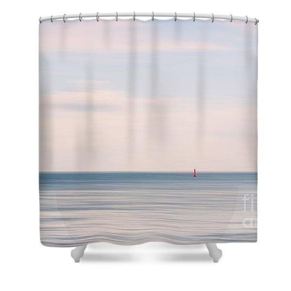 The Silence Shower Curtain