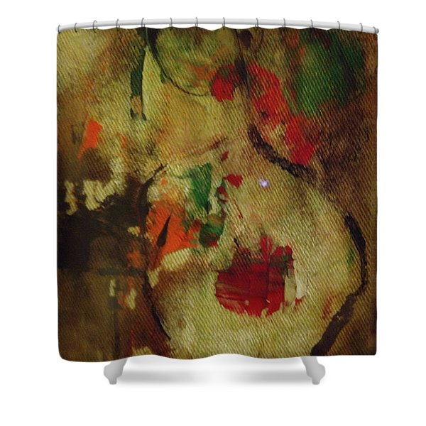 The Silent Lamb Shower Curtain