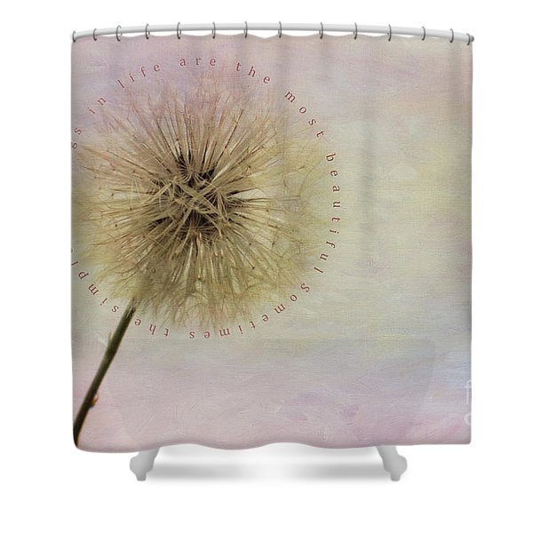 The Simplest Things Shower Curtain