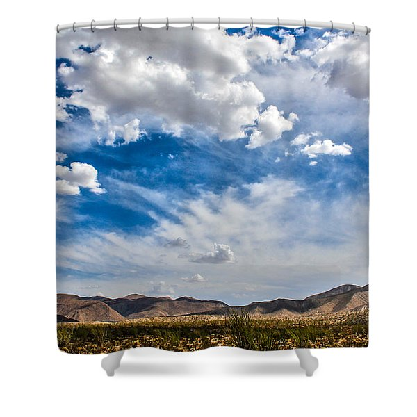 Shower Curtain featuring the photograph The Sky by Break The Silhouette