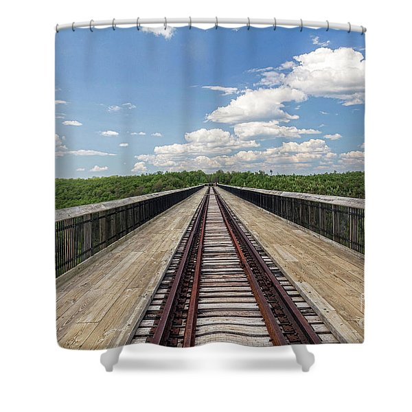 The Skywalk Shower Curtain