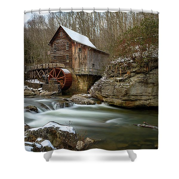 The Splendor Of West Virginia Shower Curtain