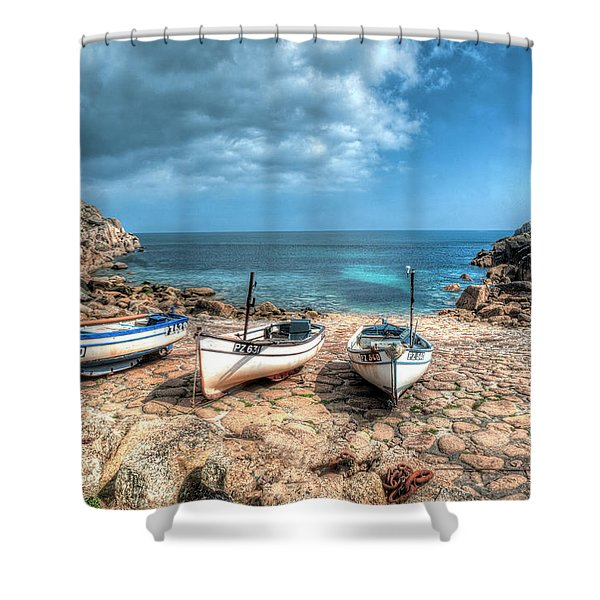 The Slip, Penberth Shower Curtain