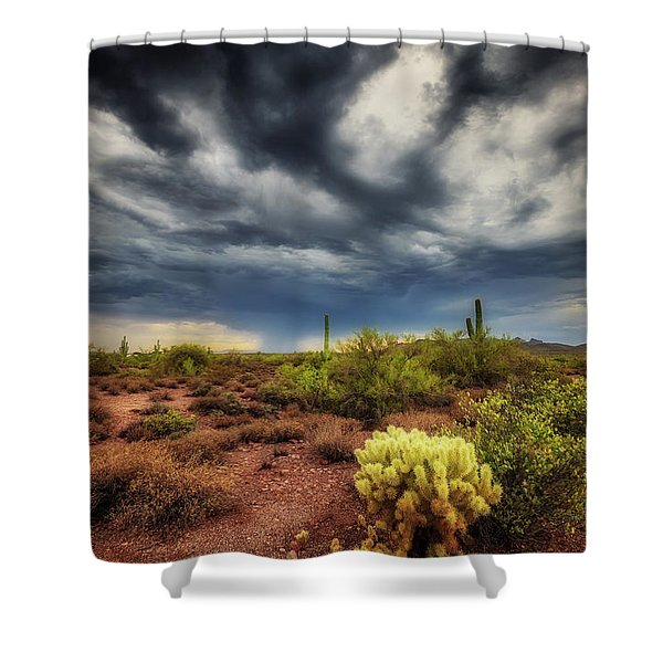 The Smell Of Rain Shower Curtain