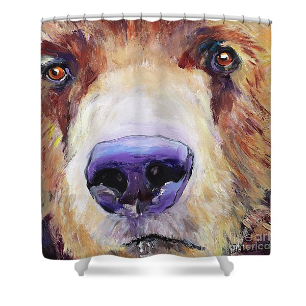 The Sniffer Shower Curtain