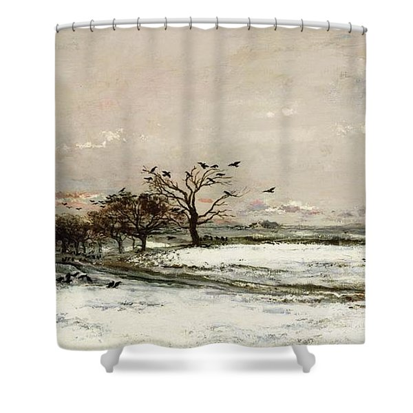 The Snow Shower Curtain
