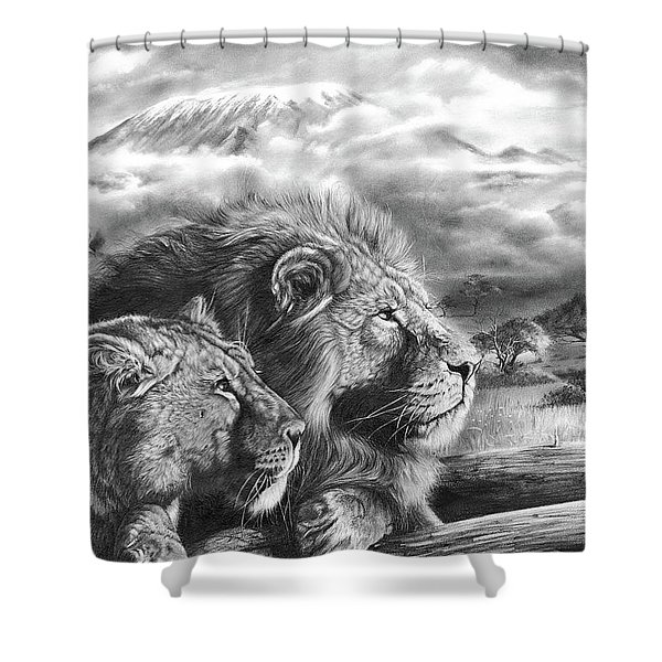 The Snows Of Kilimanjaro Shower Curtain