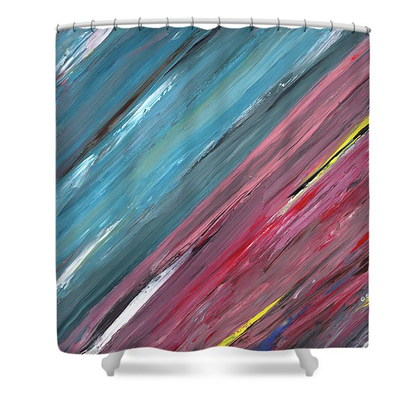The Song Of The Horizon A Shower Curtain