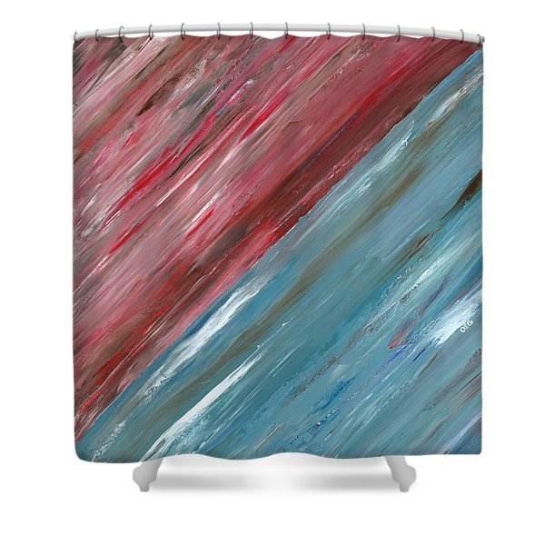 The Song Of The Horizon B Shower Curtain