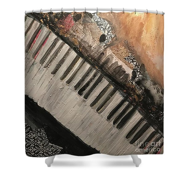 The Song Writer 2 Shower Curtain