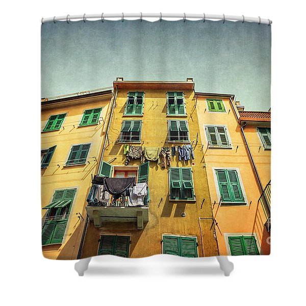 The Sound Of Life Shower Curtain