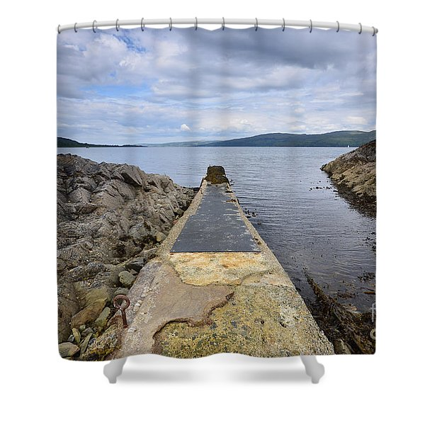 The Sound Of Mull Shower Curtain