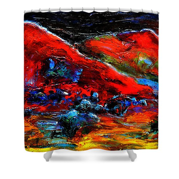 The Sound Of The Night Shower Curtain