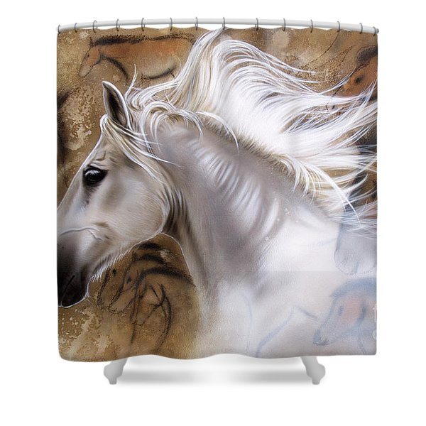 The Source II Shower Curtain