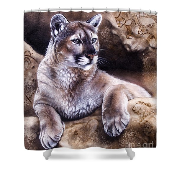 The Source Iv Shower Curtain