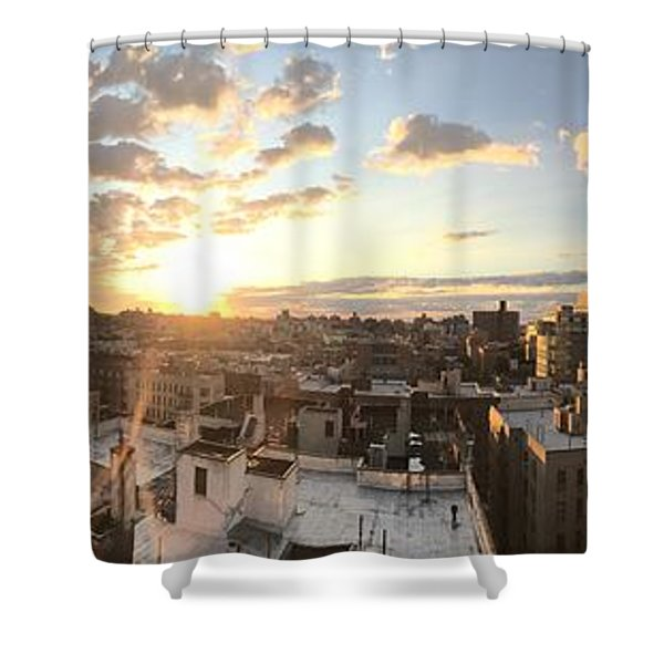 The Bronx Morning Shower Curtain