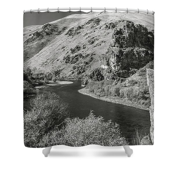 South Fork Boise River 3 Shower Curtain