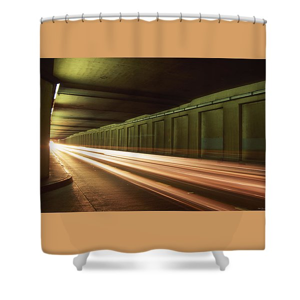 The Speed Of Lights Shower Curtain