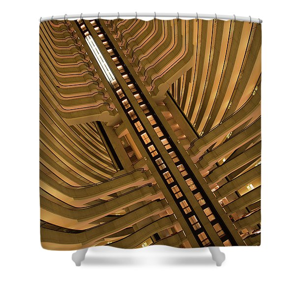 The Spine Shower Curtain