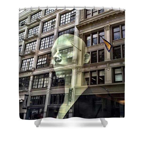 The Spirit Of San Francisco Shower Curtain